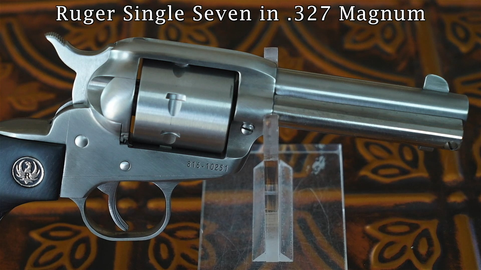 Libsey's Gun of the Month: Ruger Single Seven in  327 Magnum